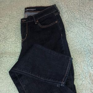 Dark wash jeans from Old Navy